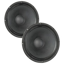 "Pair Eminence Delta Pro-15A 15"" Woofer 8 ohm 101.6dB 2.5"" VC Replacemnt Speaker"