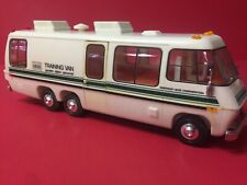 1978 Hess Toy Truck Training Van - working lights - Instruct Card. Original box