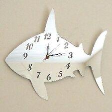 Shark Mirrored Clock