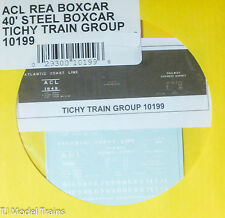 Tichy Train Group #10199 Decal for:Atlantic Coast Line 40' Steel Express Boxcar