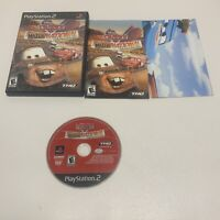 Cars Mater-National Championship PlayStation 2 PS2 Complete & Poster Works