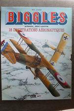 BD biggles 18 illustrations aéronautiques EO 2000 TBE eric loutte raf