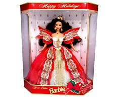 1997 Happy Holidays Anniversary Barbie Doll