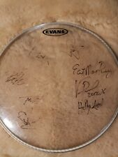 Hellyeah Autographed Drumhead Vinnie Paul R.I.P Pantera Guaranteed Authentic