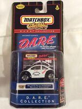 Matchbox DARE Collection Bellevue Police Dept Bellevue Washington VW Beetle NIP