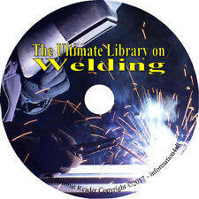 Welding 38 Books on DVD, How to Oxy-Acetylene Metalwork Metal Weld Soldering