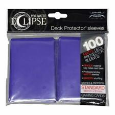 Ultra Pro Matte Deck Protector Sleeves ECLIPSE PURPLE 100ct MAGIC POKEMON FOW