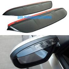 PM Rear View Mirror Glass Rain Snow Guard Sun Trims Visor New for Ford Fiesta