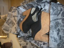 Platform Shoes - Black and Leather - Wittner BNWT - Size 39 (AU8)