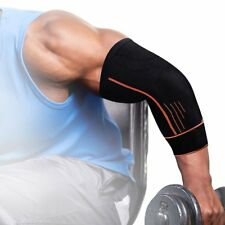 Elastic Elbow Support Arm Straps Band Gym Power Weight lifting Bandage Strap