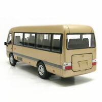 1:32 Toyota Coaster Bus Die Cast Modellauto Auto Spielzeug Sammlung Geschenk