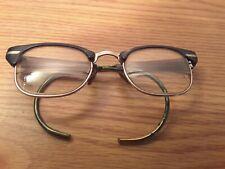 VINTAGE A O (AMERICAN OPTICAL) 6 1/2 CAT EYE GLASSES