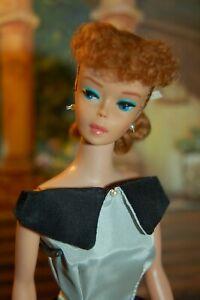 VINTAGE MATTEL BARBIE Titian Red Hair 1963 #850 PONYTAIL NUDE