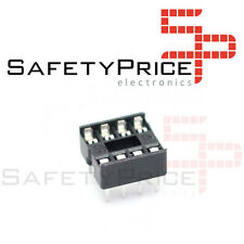 5x Zocalo integrado 8 PINs DIP 8 Socket doble contacto