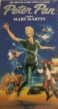 Peter Pan Starring Mary Martin(1989 VHS)TESTED-RARE VINTAGE-SHIPS N 24 HOURS