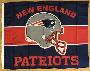 New England Patriots Football NFL 3x4 Banner Flag Mancave Tailgate FREE SHIPPING