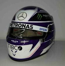 2020 Lewis Hamilton Mercedes F1 model helmet signed 1/2 Formula 1