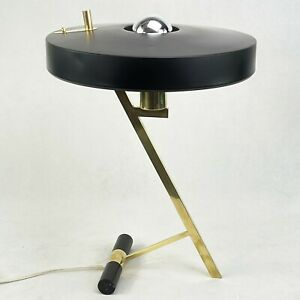 Original Z-Lampe 50er Years Philips Christiaan Louis Kalff Desk Lamp