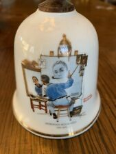 Norman Rockwell, Triple Self Portrait Bell, West Germany Sep, 1979 Danbury Mint