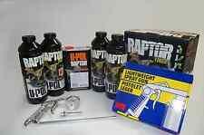 UPOL Raptor TEXTURE Black Spray-On Truck Bedliner Kit w/spray Gun FREE SHIPPING