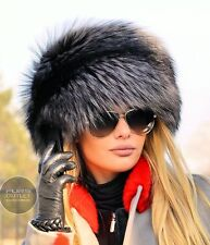NEW LaFuria 2017 SILVER FOX FUR HAT CLASS SABLE MINK CHINCHILLA COAT JACKET VEST