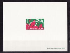 épreuve de luxe timbre France  régions  Réunion  1977   num: 1914