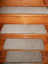 "13  STEP  9"" X 30""  + Landing  30'' x 27''  Stair Treads Staircase Rug CARPET."