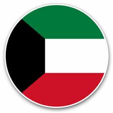 2 x Vinyl Stickers 30cm - Kuwait Flag Cool Gift #9073