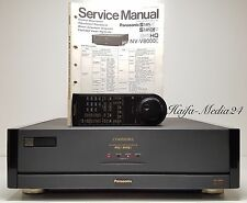Panasonic NV-V8000 HighEnd S-VHS / VHS / S-VHS-C / VHS-C Videorecorder +FB