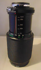 Vivitar 75-205MM 1:3.8MC Macro Focusing Zoom Lens For Canon Camera 62mm With Bag