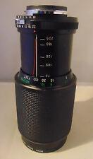 Vivitar 75-205MM 1:3.8MC Macro Focusing Zoom Lens For Canon Camera 62mm With Bag