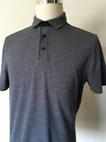 Champion Men's Large Gray Short Sleeves Polo Golf Shirt excellent