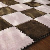 10Pcs Baby soft Foam Play Puzzle Mat Interlocking Exercise Tiles Floor Carpets
