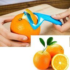 New Citrus Orange Opener Peeler Slicer Cutter Plastic Lemon Fruit Skin Remover