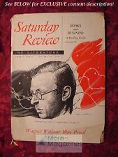 Saturday Review January 20 1951 JEAN-PAUL SARTRE THOMAS MANN EDWARD WAGENKNECHT