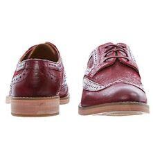 J Shoes Scarpe di pelle bordeaux TG UK 5.5 RRP £ 125