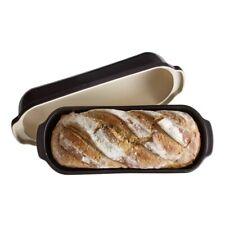Emile Henry Charcoal Italian Loaf Maker