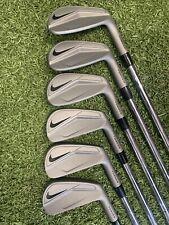 Nike Vapor Pro Forged Blades 'Cerakote' Golf Iron Set. Tour Shafts. ⛳️⛳️