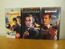 Lot of 18 James Bond Movies VHS Tapes