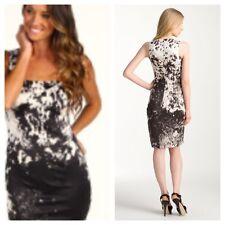 Just Cavalli Appaloosa Stretch Satin Dress Size 42