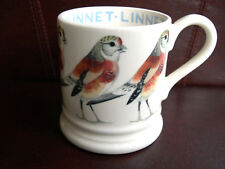 Emma Bridgewater Mug Linnet British Birds Collection Finches Finch Half Pint