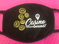 Casino bound Slots Cotton Face Mask Cover