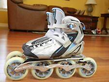 Nice ROLLERBLADE SPEEDMACHINE RX100 W 4X100mm marathon speed inline skates 7.5