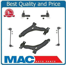 Fits For 08-2011 Ford Focus (2) Control Arm + Ball Joint Tie Rods 6Pc Kit