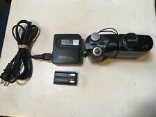Nikon Coolpix 4500 4MP Digital Camera 4x Optical Zoom w/charger & 2 batteries