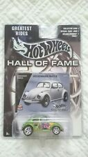 HOT WHEELS VOLKSWAGEN BEETLE W/RR TIRES HALL OF FAME GREATEST RIDES