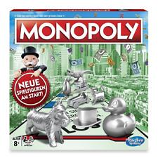 Hasbro C1009100 Monopoly Classic Familienspiel Strategiespiel Gesellschaftsspiel