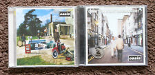 2 Oasis CD's  Be Here Now  What's The Story Morning Glory