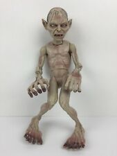 """Lord of The Rings Gollum 10"""" Action Figure 2003 Marvel Ent Smeagol Figure"""