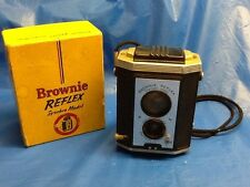 BROWNIE REFLEX #173 Synchro VINTAGE 127 film CAMERA in ORIGINAL BOX!!!